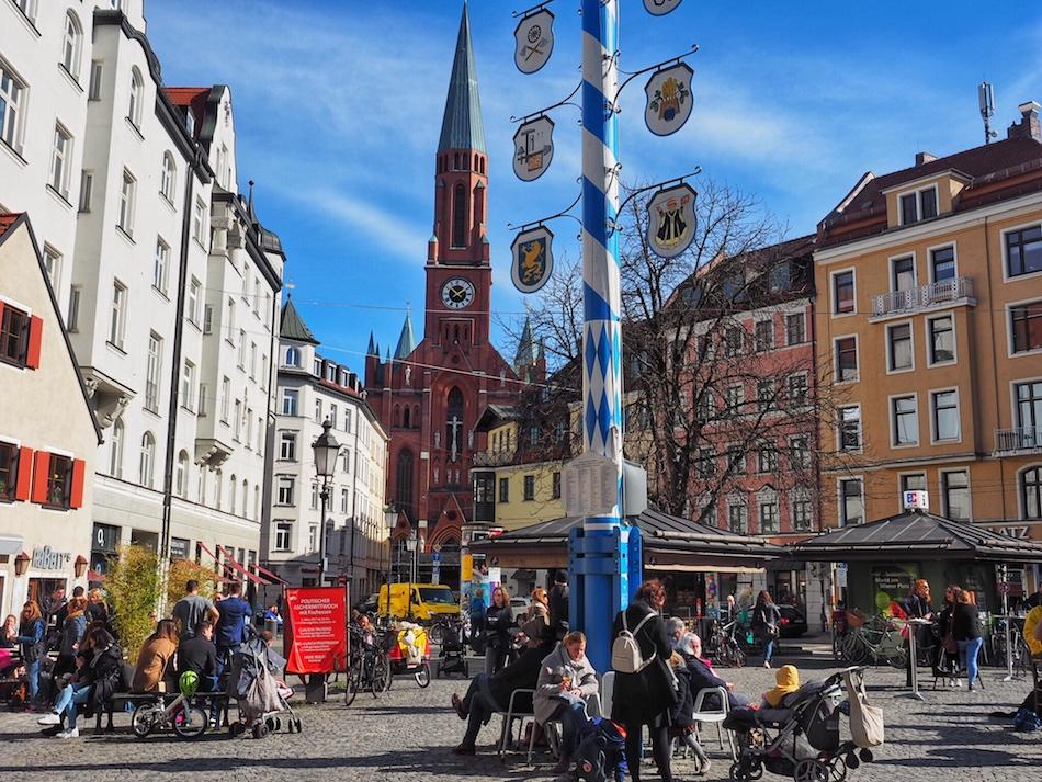 Weinerplatz Market Vienna Square Munich