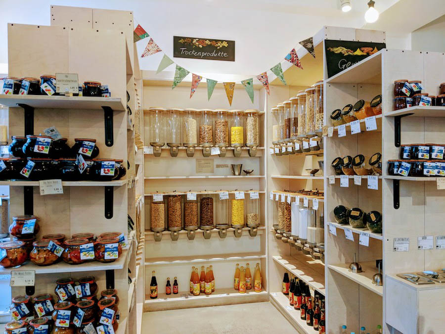 Ohne package free store sustainable munich