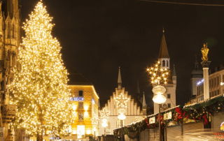 Munich Christmas Markets Marienplatz Market