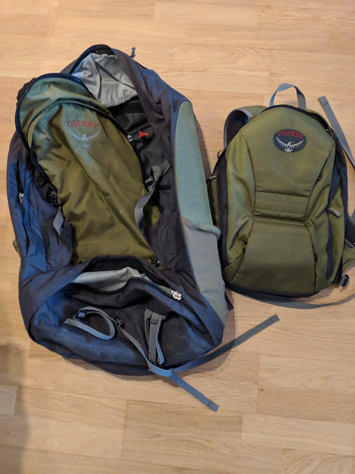Osprey Backpack What to Pack for New Zealand