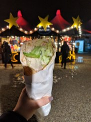 Tollwood Vegetarian Food Christmas Markets Munich German