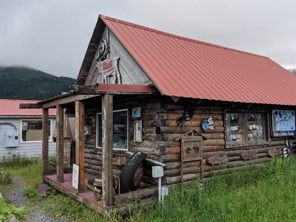 House in Whittier, Alaska