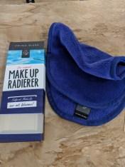 Microfiber makeup remover zero waste toiletries