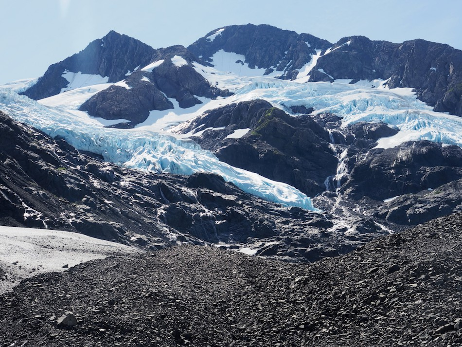 Byron Glacier Hike Alaska