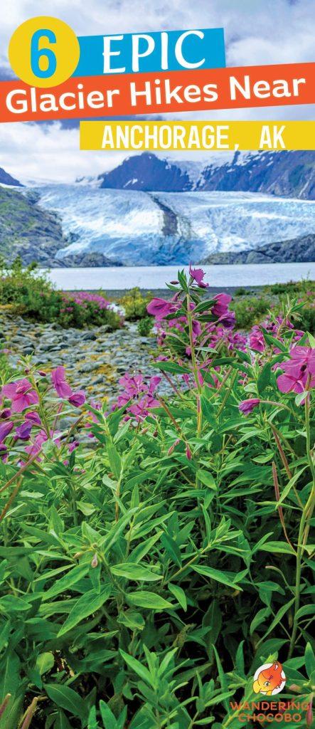 6 eipic glacier view hikes near Anchorage, Alaska