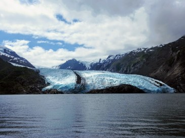 Portage Glacier Lake HIke Alaska Whittier
