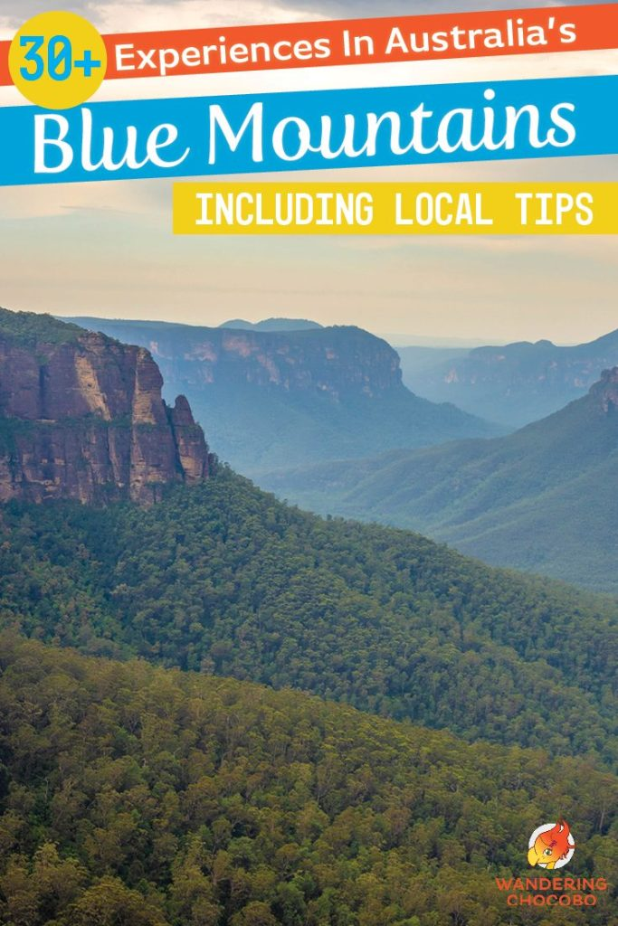30 unique things to do in the Blue Mountains National Park