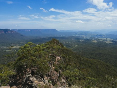 hargraves lookout Blue Mountains National Park
