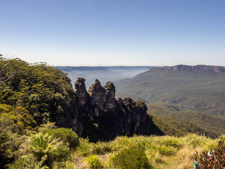three sisters echo point Blue Mountains National Park Sydney Australia