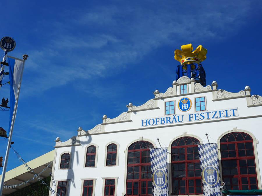 Hofbrau Oktoberfest tent introvert guide