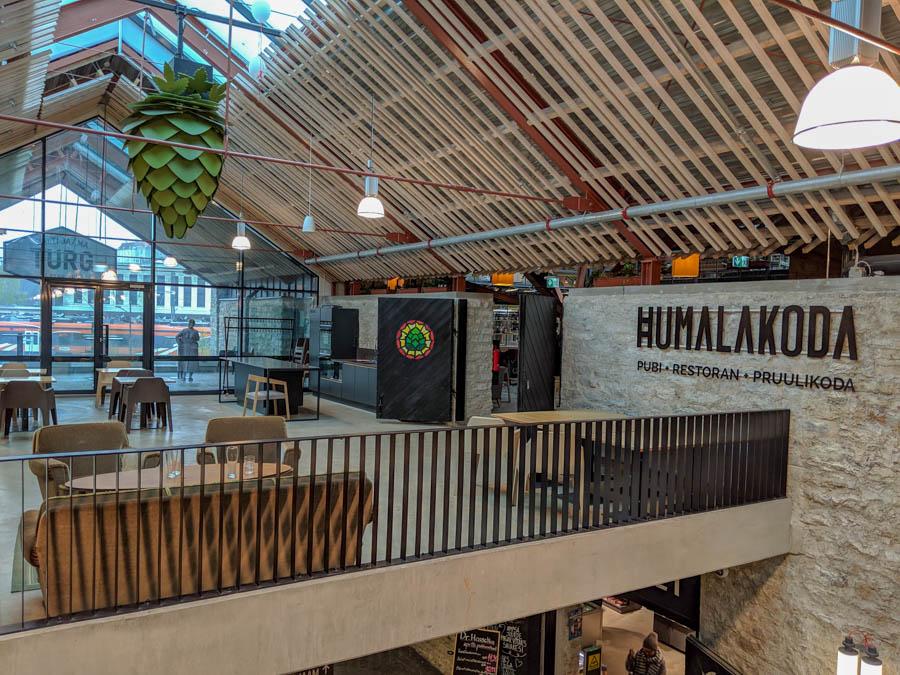 Humalakoda Pub Restaurant Brewery Tallinn