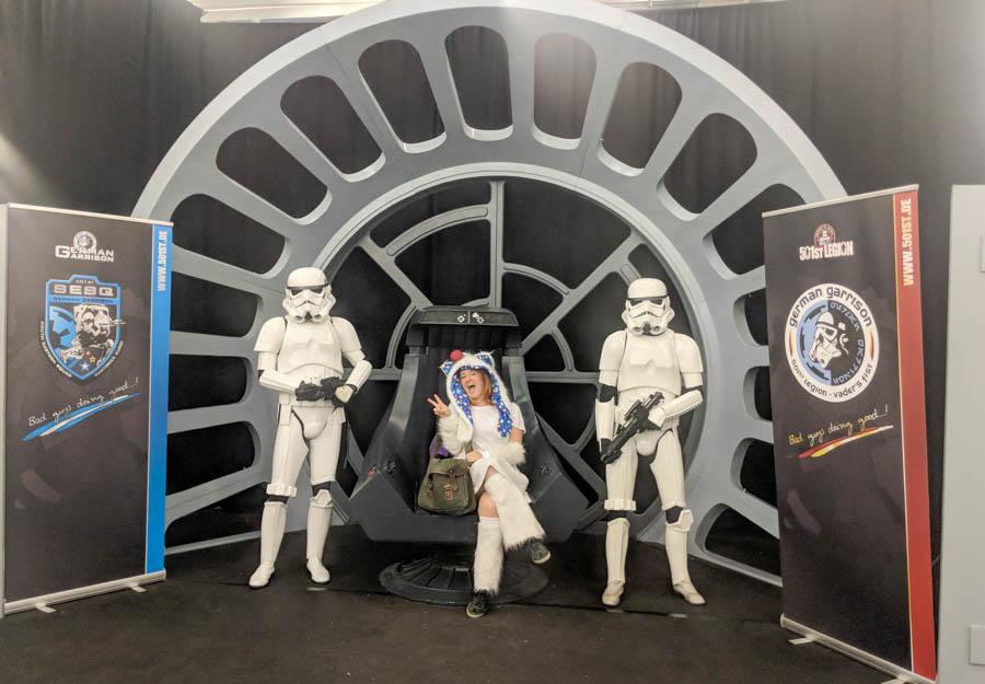 German Comic-Con Star Wars Photo Set