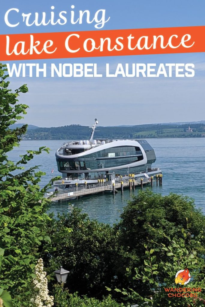 Lindau Nobel Laureate Meetings Closing Party on Lake Constance Hosted by Baden Würtemberg