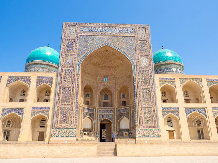 Mir-i-Arab Madrasa Bukhara Uzbekistan