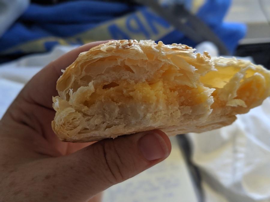 cheese samsa in Kazakhstan