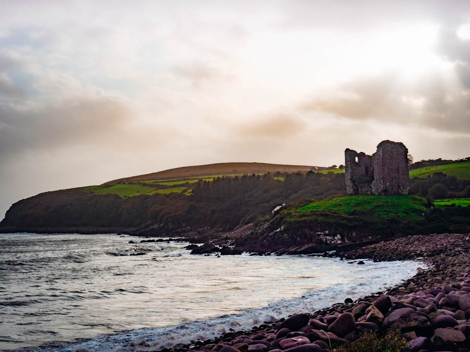Minard Castle Ireland