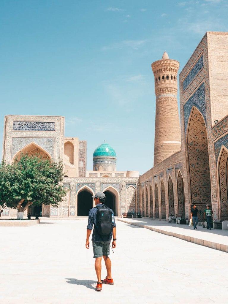 Kalon Mosque Bukhara