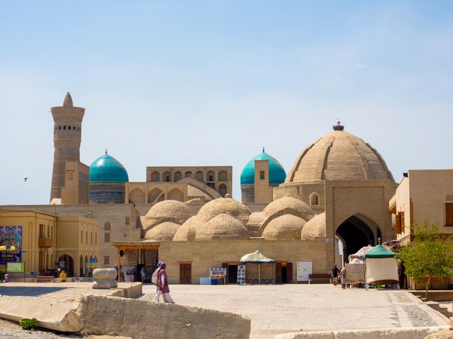 Bukhara Uzbekistan Bazaar