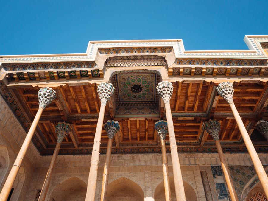 Bolo Hauz Mosque Bukhara