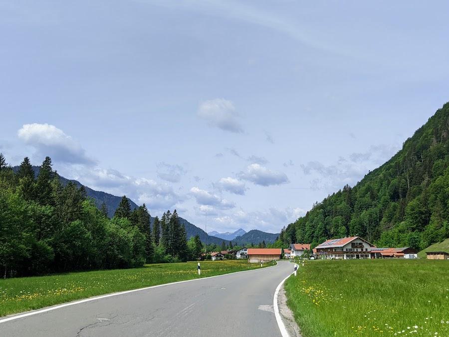 Jachenau drive Munich