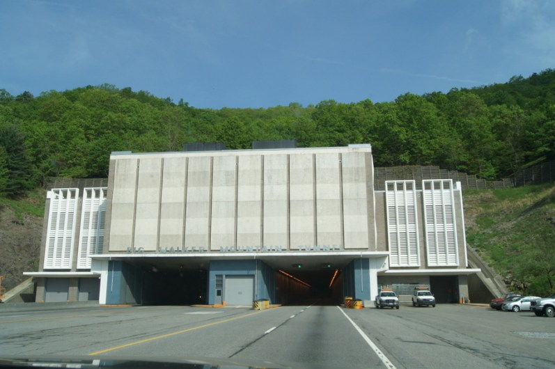 Big Walker Mountain Tunnel on I-77