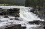 We stopped to look at Athabasca Falls