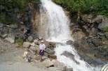 Waterfalls along the Klondike Highway