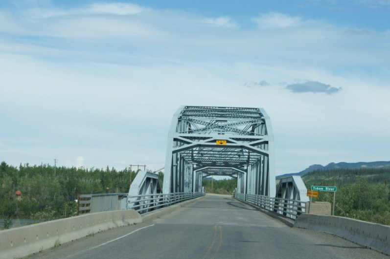 Crossing the Yukon River