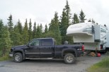 Site 27 in Teklanika Campground at mile 30 on the Denali Park Road. This is as far as private vehicles can go on the road.