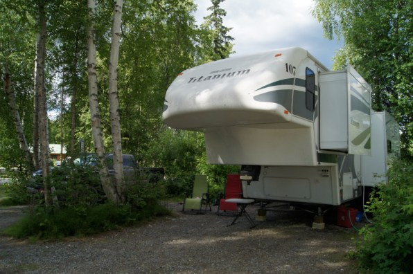 Our home in Talkeetna