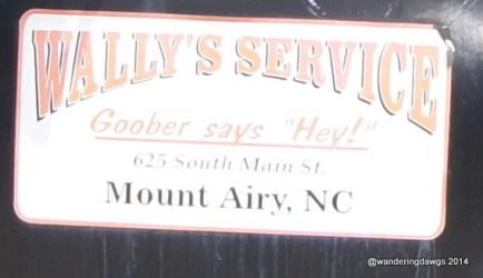 """Goober says """"Hey!"""""""