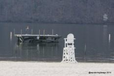 Swim platform at Claytor Lake State Park