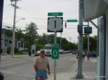 U. S. 1 Mile Marker Zero in Key West, Florida