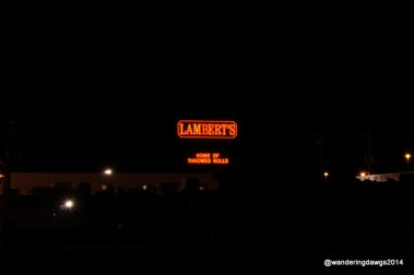 Lambert's Cafe - Home of the Throwed Rolls