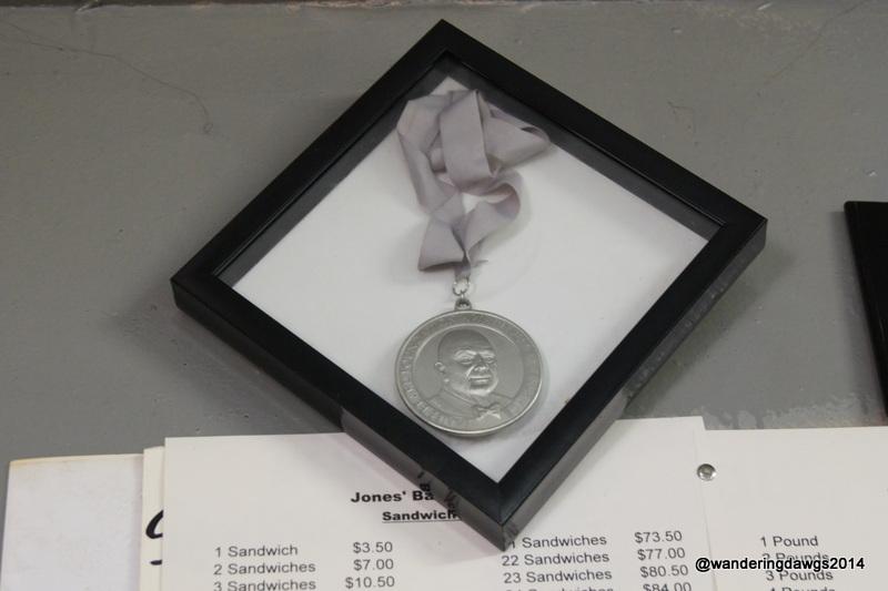 James Beard Award at Jones' Bar-B-Q Diner