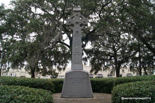 Celtic Cross Monument in Emmet Park