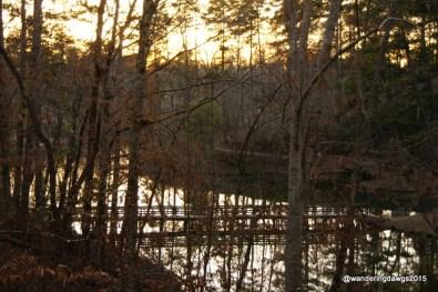 Sunset at Sherling Lake