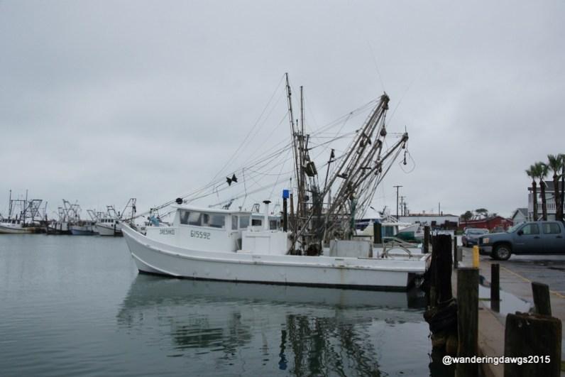 Shrimp Boats in Rockport, Texas