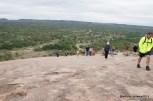 The trail was pretty steep as we got near the top