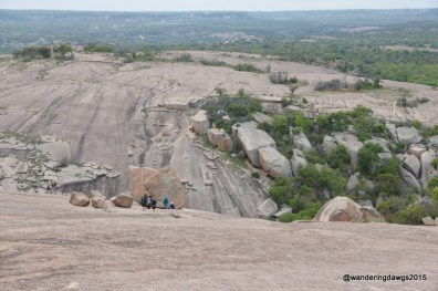 View from the summit of Enchanted Rock