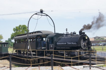 Steam Engine at the Georgia Railroad Museum