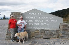 Highest Point on the Blue Ridge Parkway