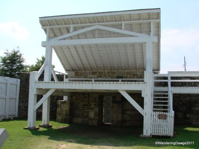 The Gallows at Fort Smith National Historic Site