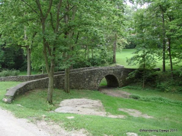 Stone Bridge in Winterset, Iowa