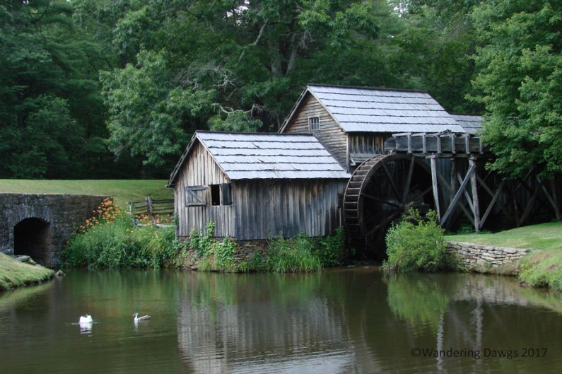 Mabry Mill, the most photographed spot on the Blue Ridge Parkway