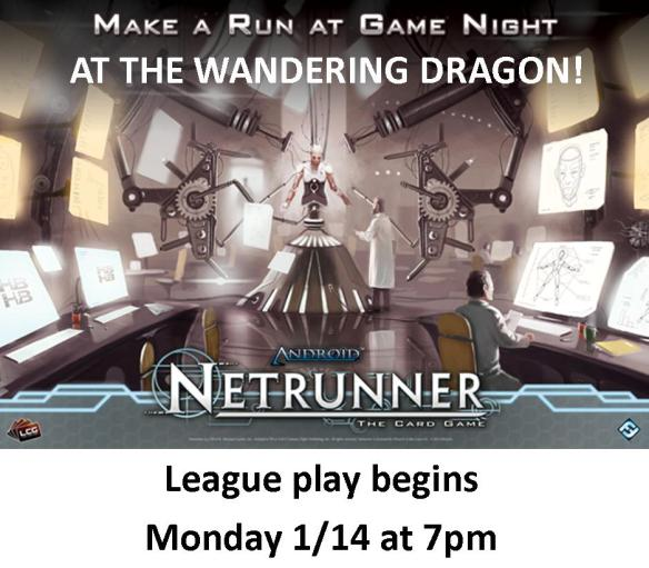 Netrunner League Post