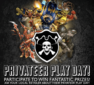 Privateer Press Play Day 1