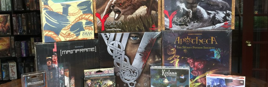Android: Mainframe, Vikings: The Board Game, Yashima