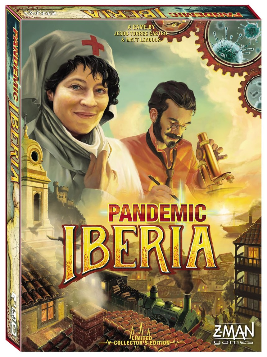 Image result for pandemic iberia board game