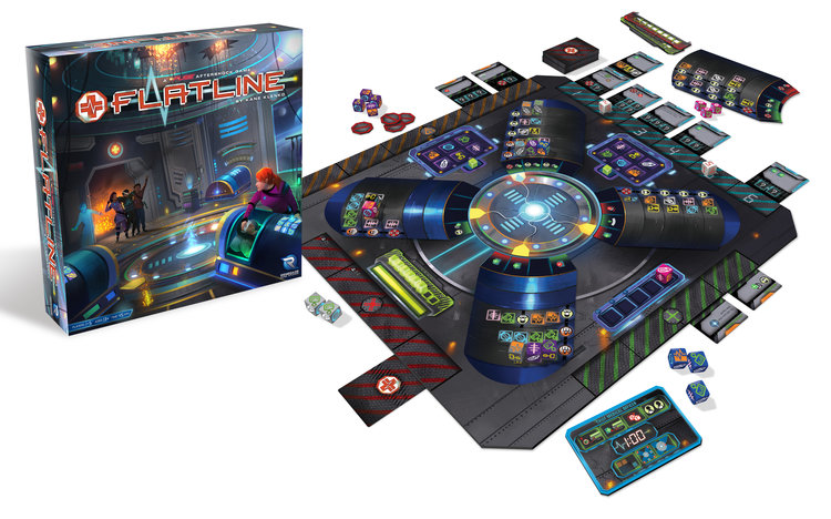 Image result for flatline board game